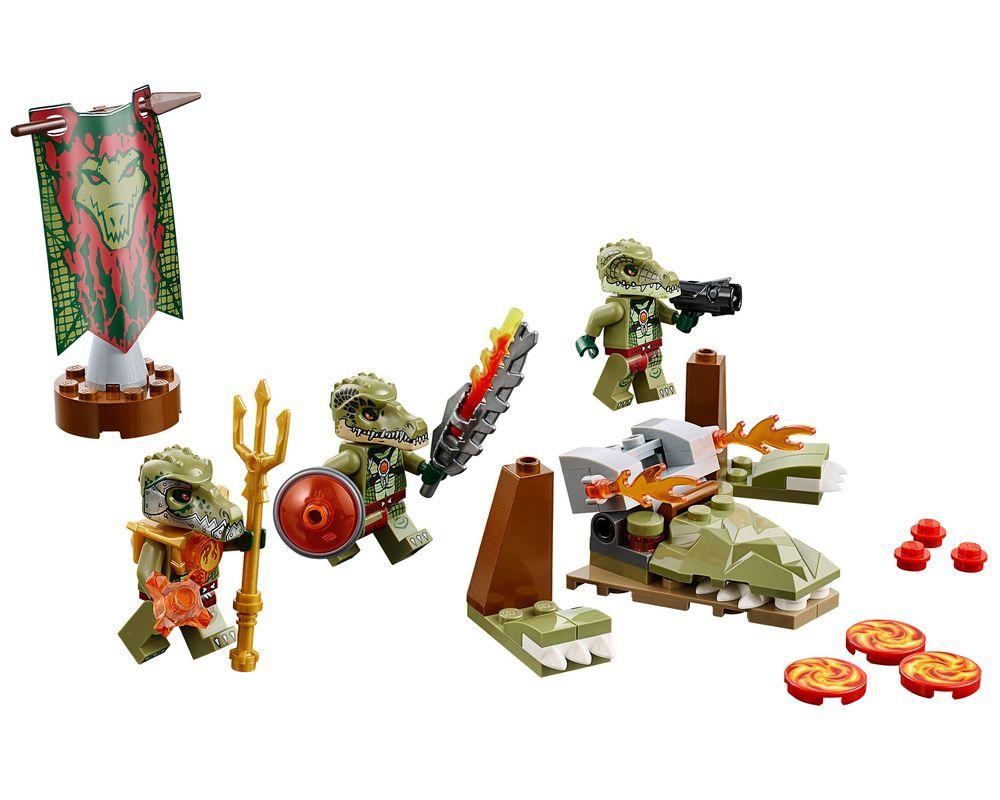 LEGO Set 70231-1 Crocodile Tribe Pack (LEGO - Model)