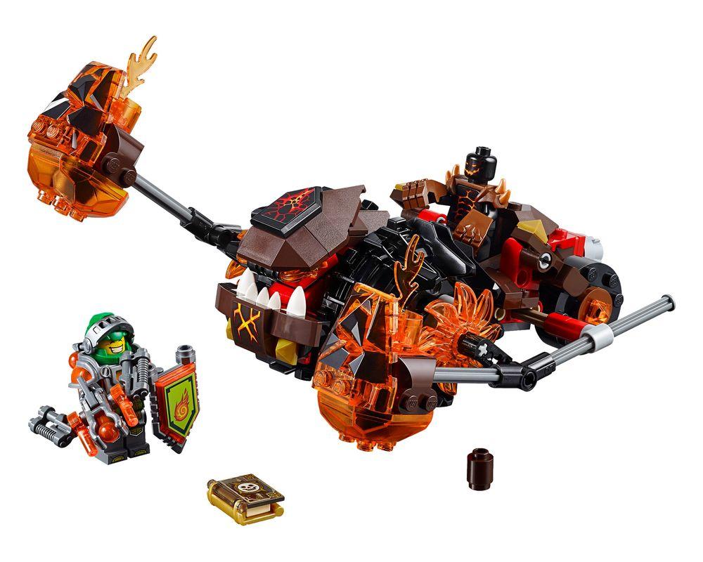 LEGO Set 70313-1 Moltor's Lava Smasher (LEGO - Model)