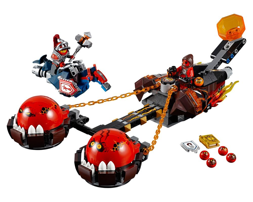 LEGO Set 70314-1 Beast Master's Chaos Chariot (Model - A-Model)