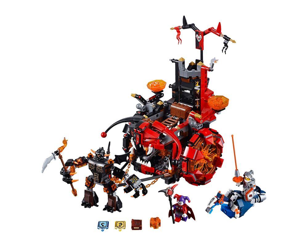 LEGO Set 70316-1 Jestro's Evil Mobile (Model - A-Model)