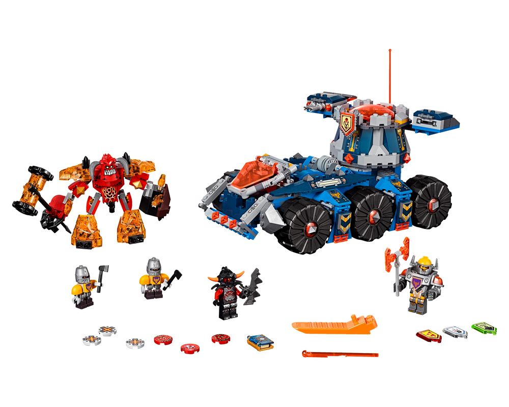LEGO Set 70322-1 Axl's Tower Carrier (LEGO - Model)