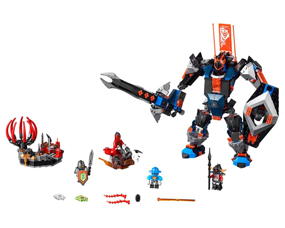 LEGO Set 70326-1 The Black Knight Mech (Model - A-Model)