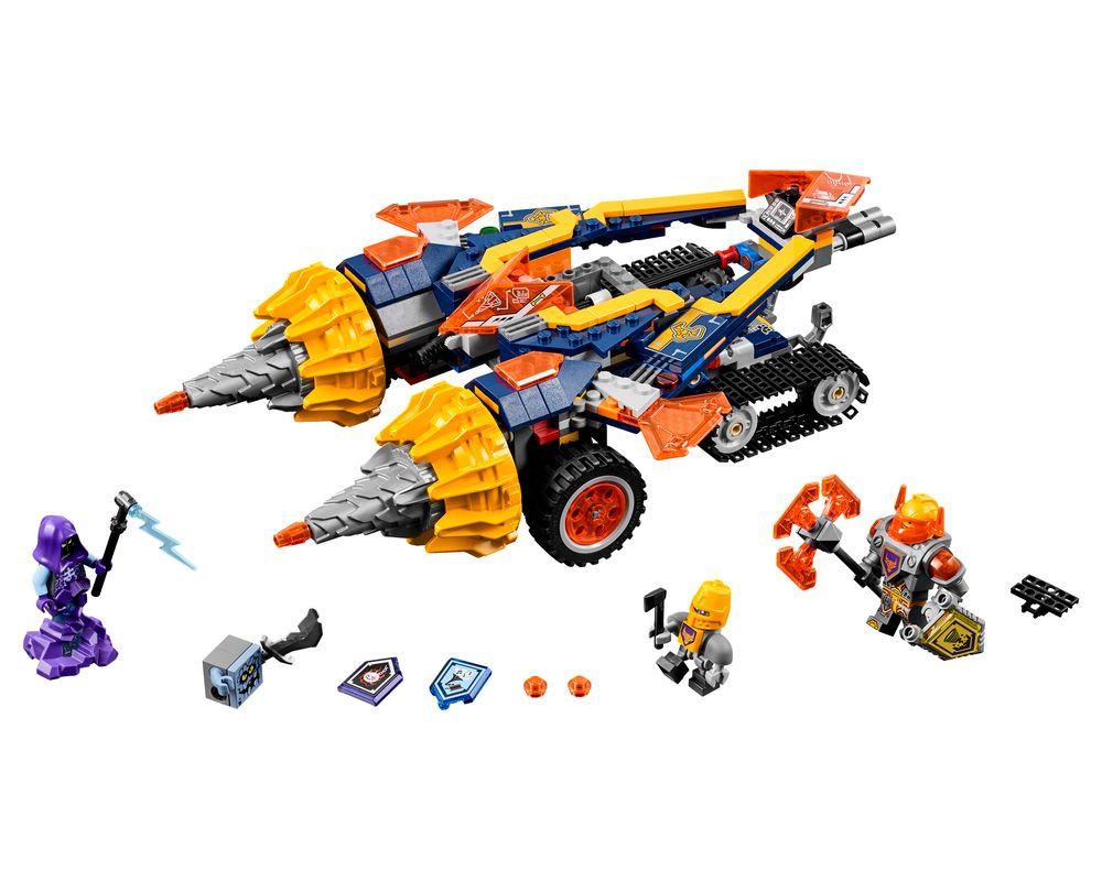 LEGO Set 70354-1 Axl's Rumble Maker (LEGO - Model)