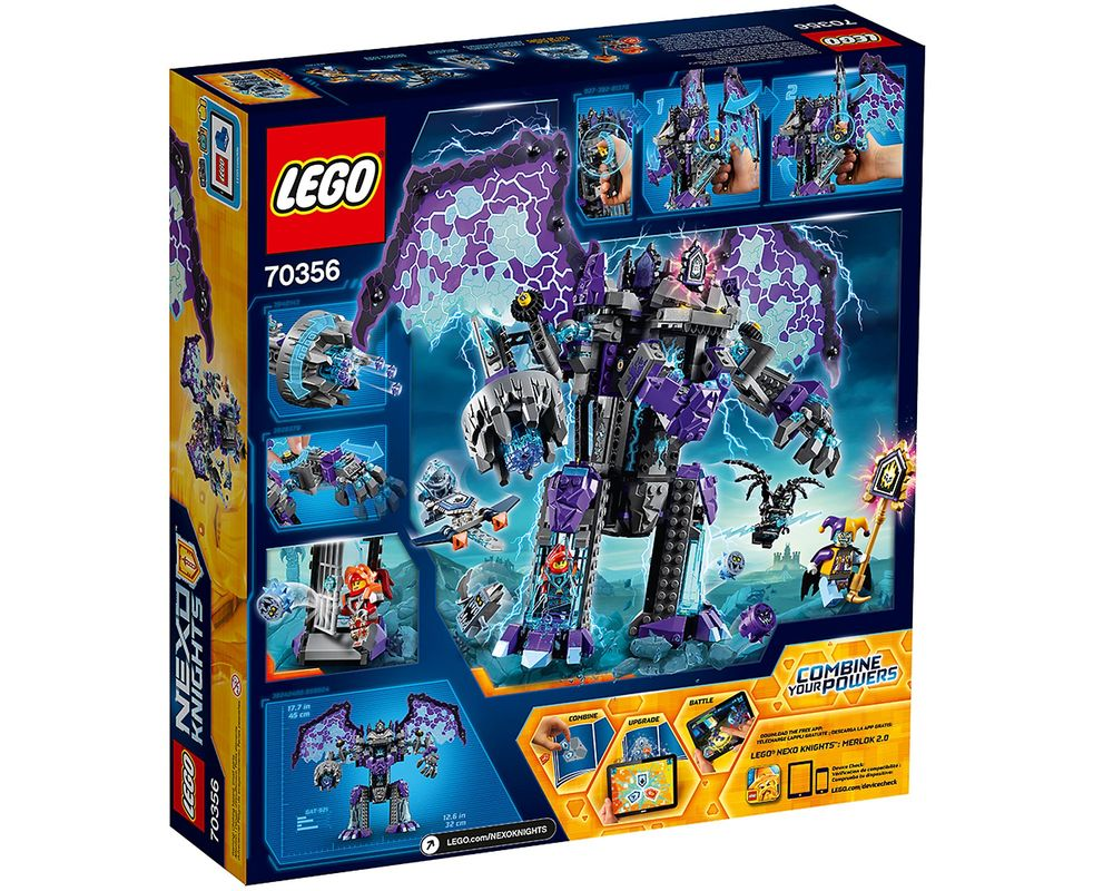 LEGO Set 70356-1 The Stone Colossus of Ultimate Destruction