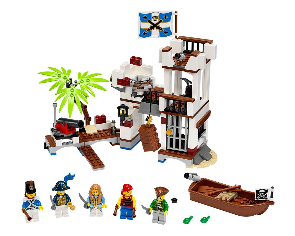 LEGO Set 70412-1 Soldiers Fort (Model - A-Model)