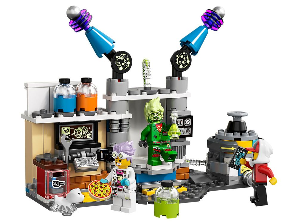 LEGO 70418-1 J B's Ghost Lab (2019 Hidden Side) | Rebrickable