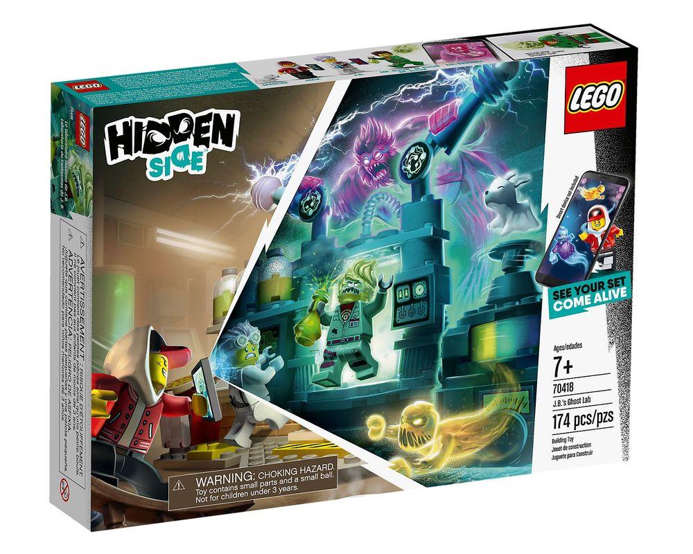 LEGO Set 70418-1 J.B's Ghost Lab