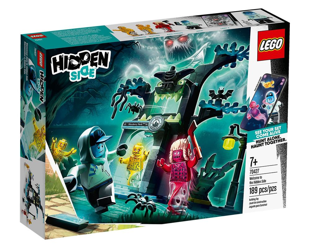 LEGO Set 70427-1 Welcome to the Hidden Side (Box - Front)