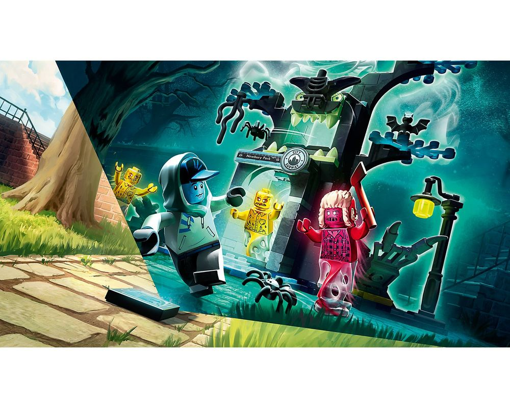 LEGO Set 70427-1 Welcome to the Hidden Side (Model - Other)