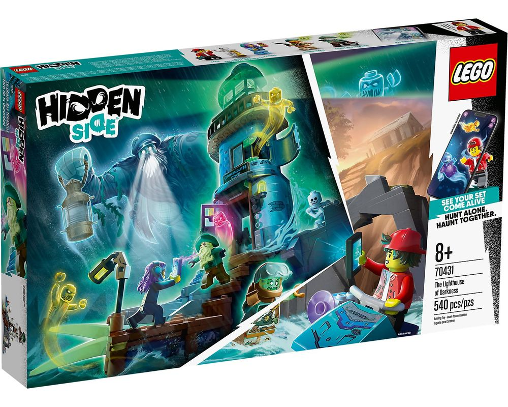 LEGO Set 70431-1 The Lighthouse of Darkness (Box - Front)