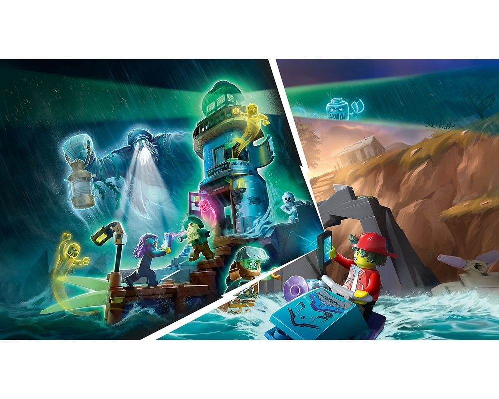 LEGO Set 70431-1 The Lighthouse of Darkness (Model - Other)