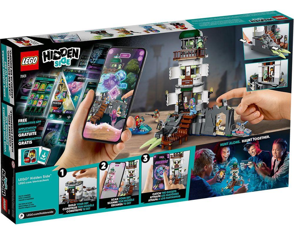 LEGO Set 70431-1 The Lighthouse of Darkness (Box - Back)