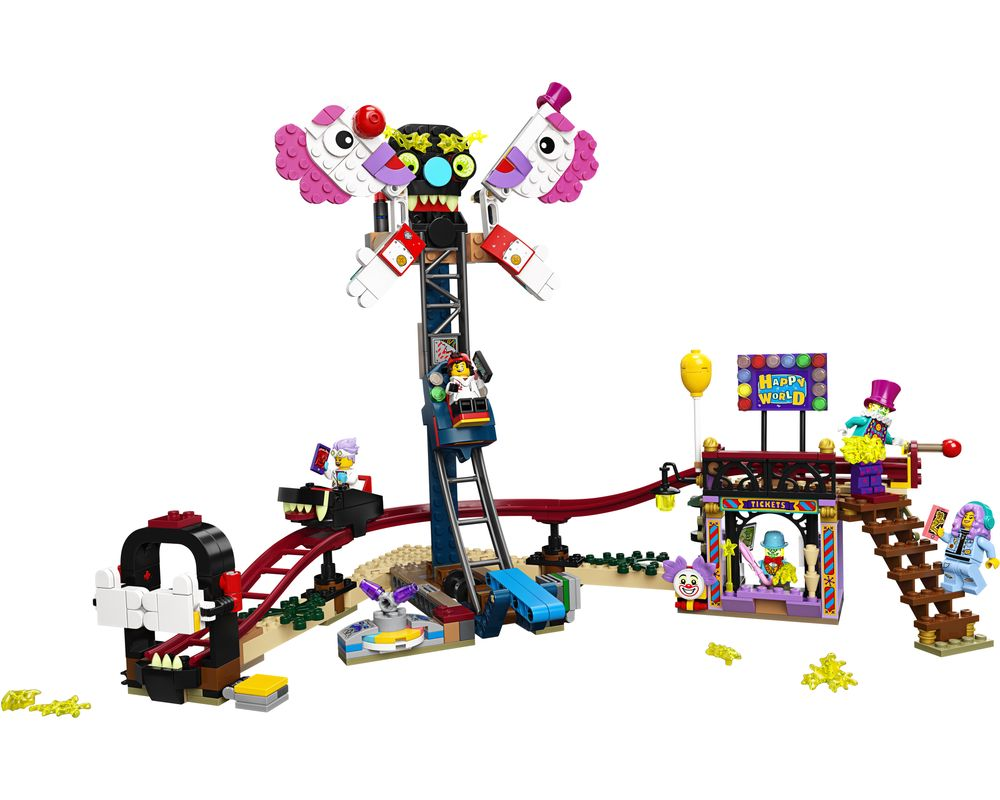LEGO Set 70432-1 Haunted Fairground (Model - A-Model)