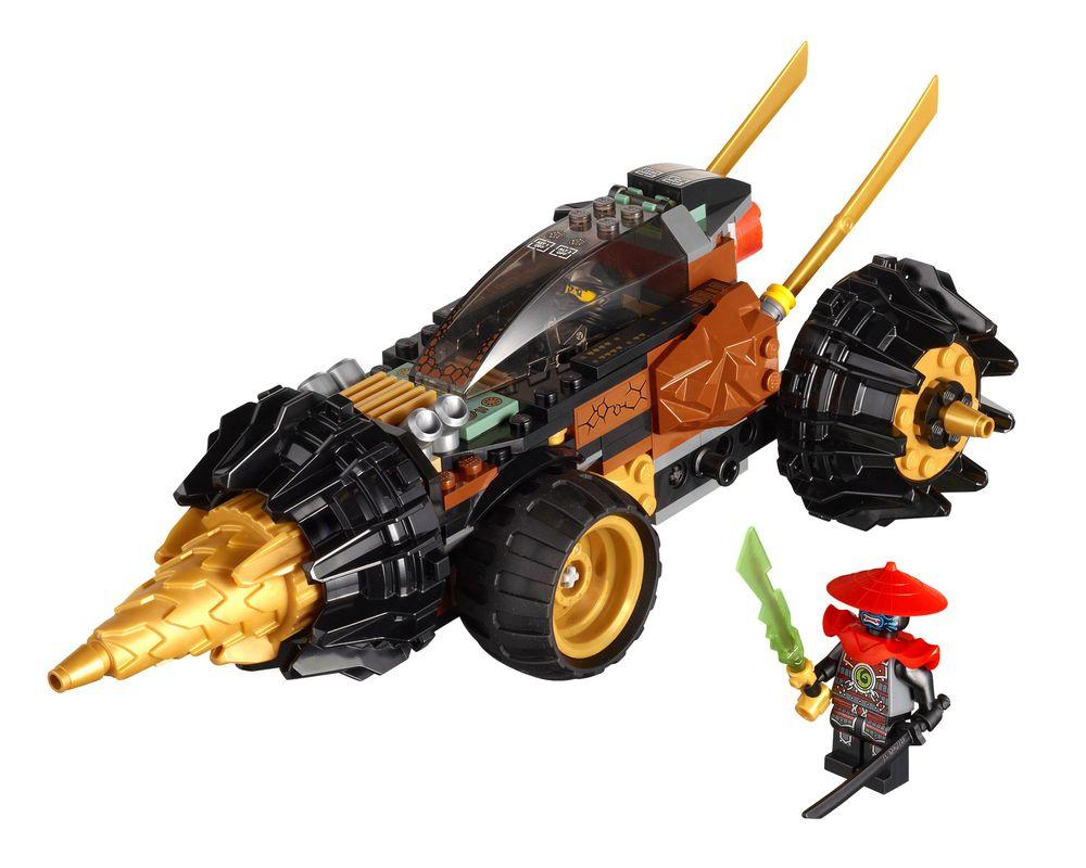 LEGO Set 70502-1 Cole's Earth Driller (2013 Ninjago) | Rebrickable - Build  with LEGO