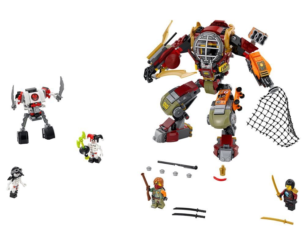 LEGO Set 70592-1 Salvage M.E.C. (Model - A-Model)