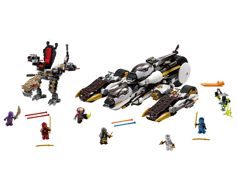 LEGO Set 70595-1 Ultra Stealth Raider (LEGO - Model)