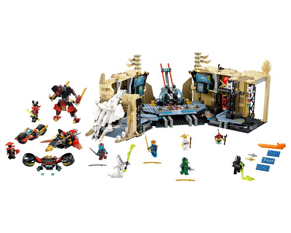 LEGO Set 70596-1 Samurai X Cave Chaos (LEGO - Model)
