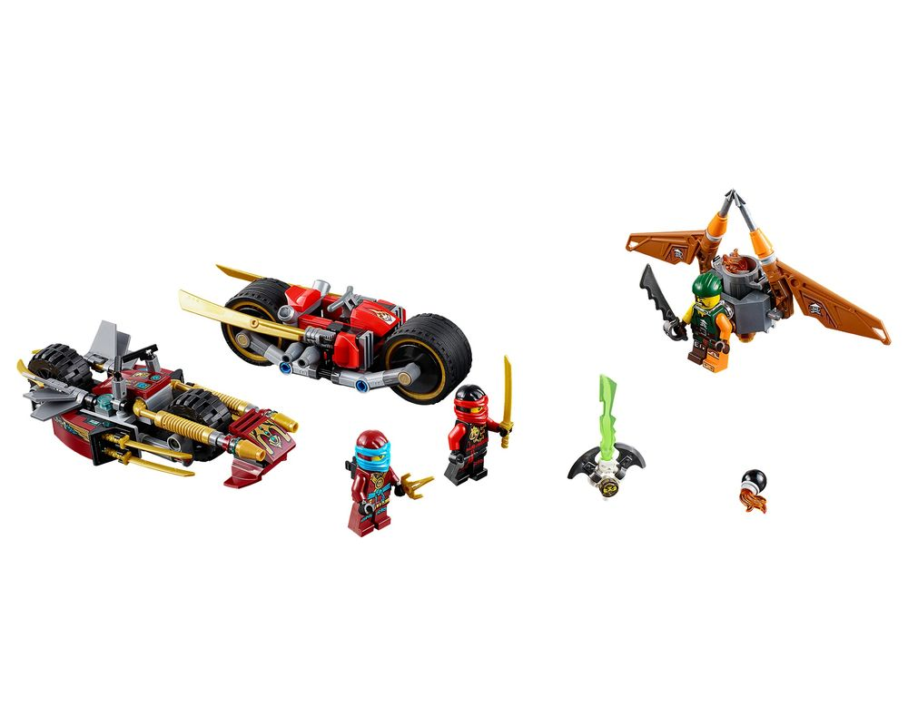 LEGO Set 70600-1 Ninja Bike Chase (LEGO - Model)
