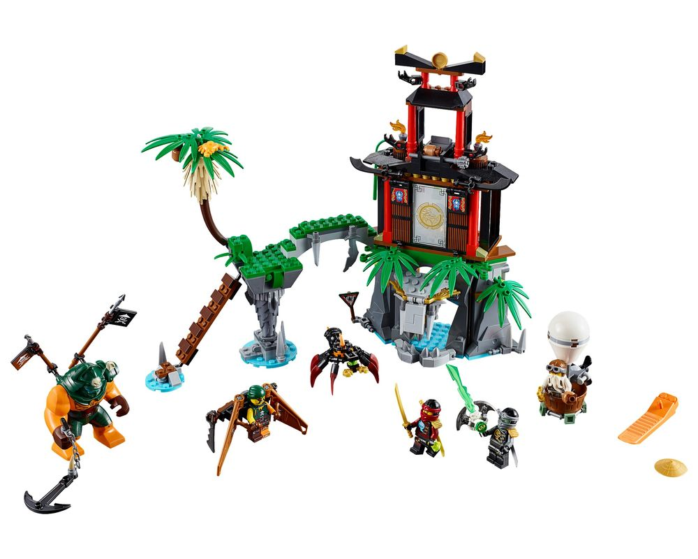 LEGO Set 70604-1 Tiger Widow Island (LEGO - Model)