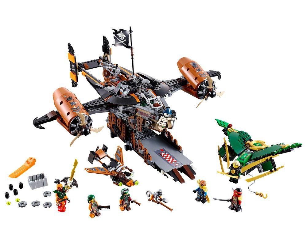 LEGO Set 70605-1 Misfortune's Keep (Model - A-Model)