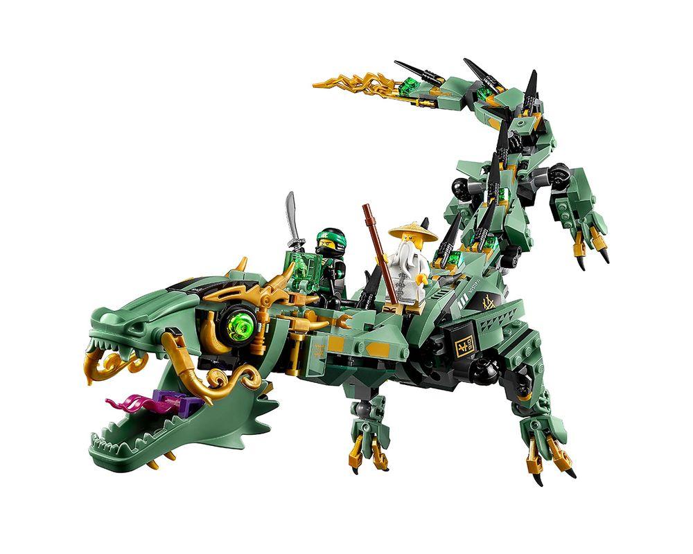 LEGO Set 70612-1 Green Ninja Mech Dragon