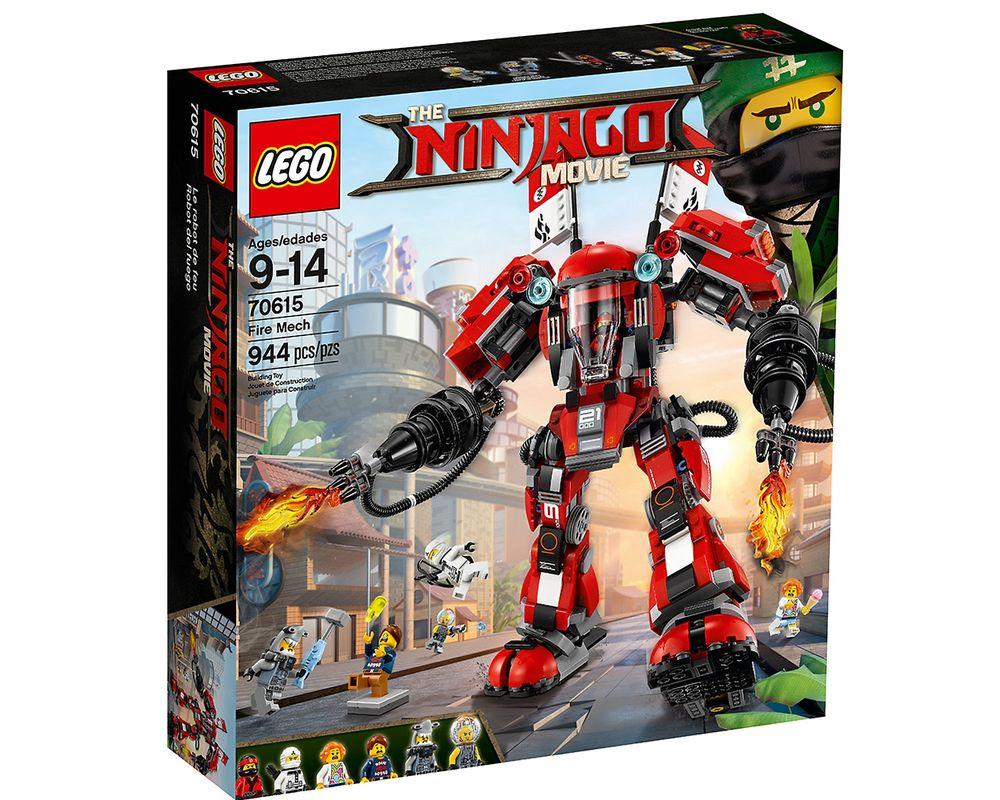 LEGO Set 70615-1 Fire Mech