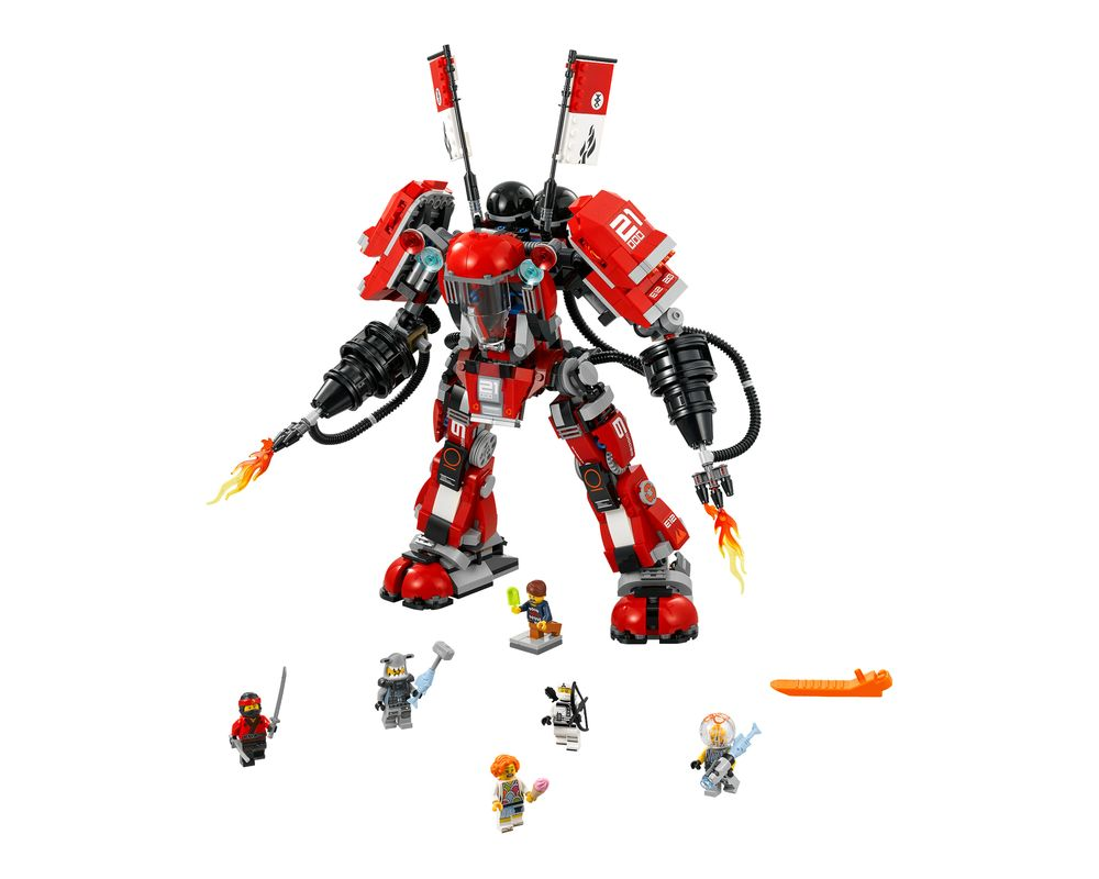 LEGO Set 70615-1 Fire Mech (Model - A-Model)