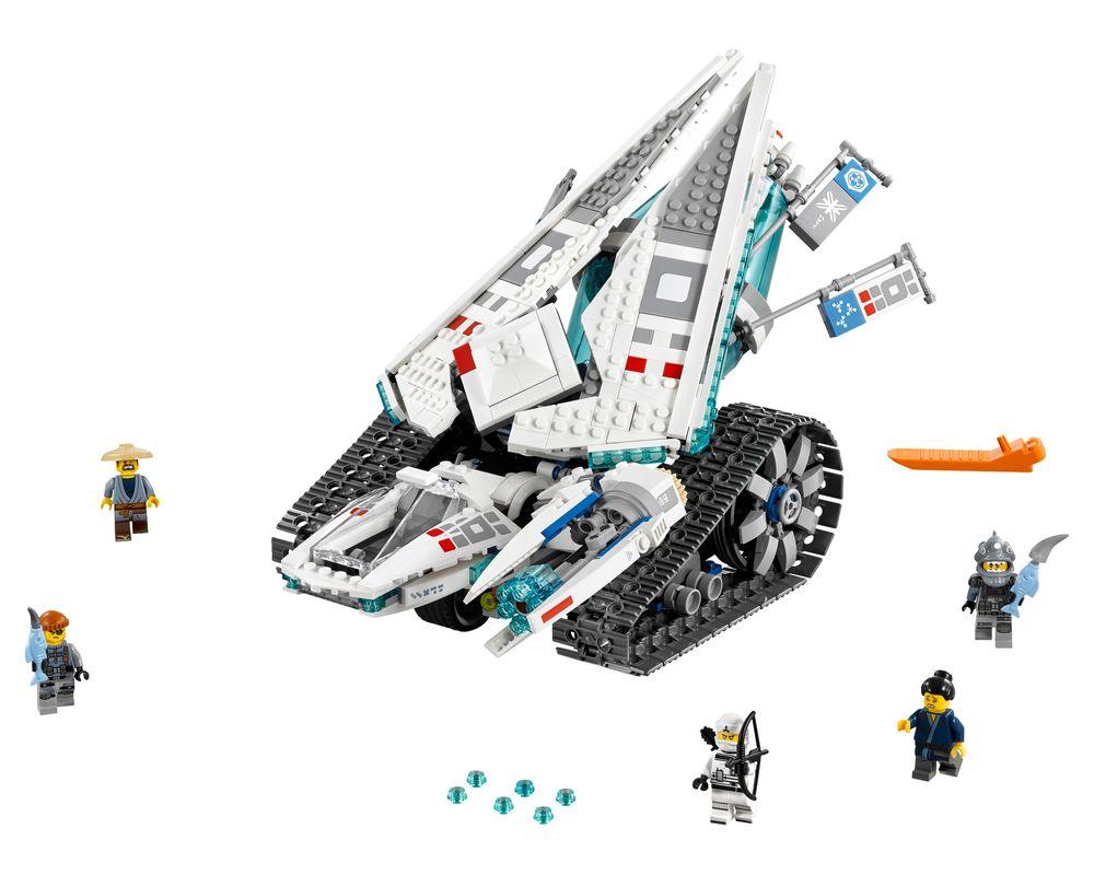 LEGO Set 70616-1 Ice Tank (LEGO - Model)