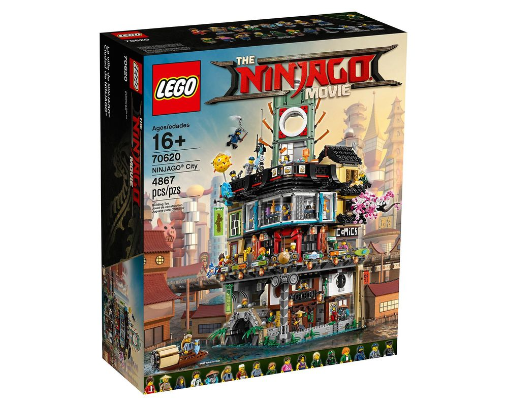 LEGO Set 70620-1 NINJAGO City