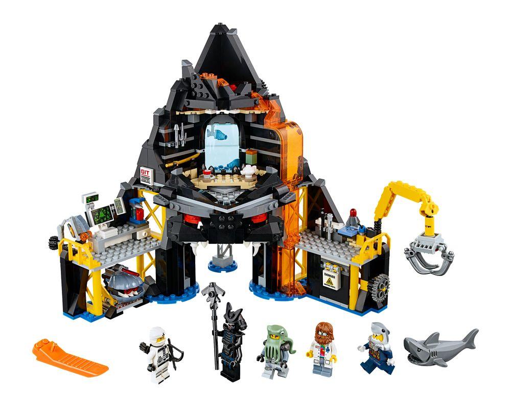 LEGO Set 70631-1 Garmadon's Volcano Lair (LEGO - Model)