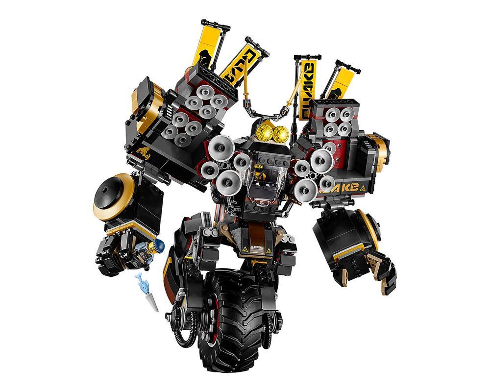 LEGO Set 70632-1 Quake Mech (2017 Ninjago > Ninjago The Movie) |  Rebrickable - Build with LEGO