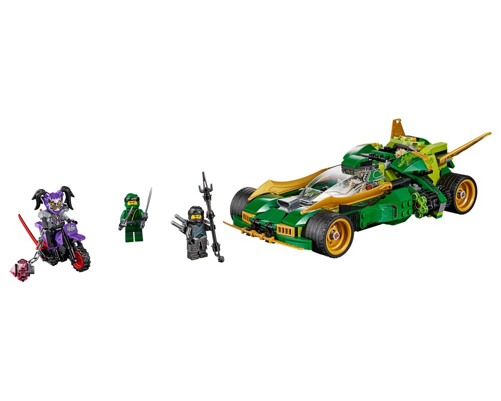 LEGO Set 70641-1 Ninja Nightcrawler (Model - A-Model)