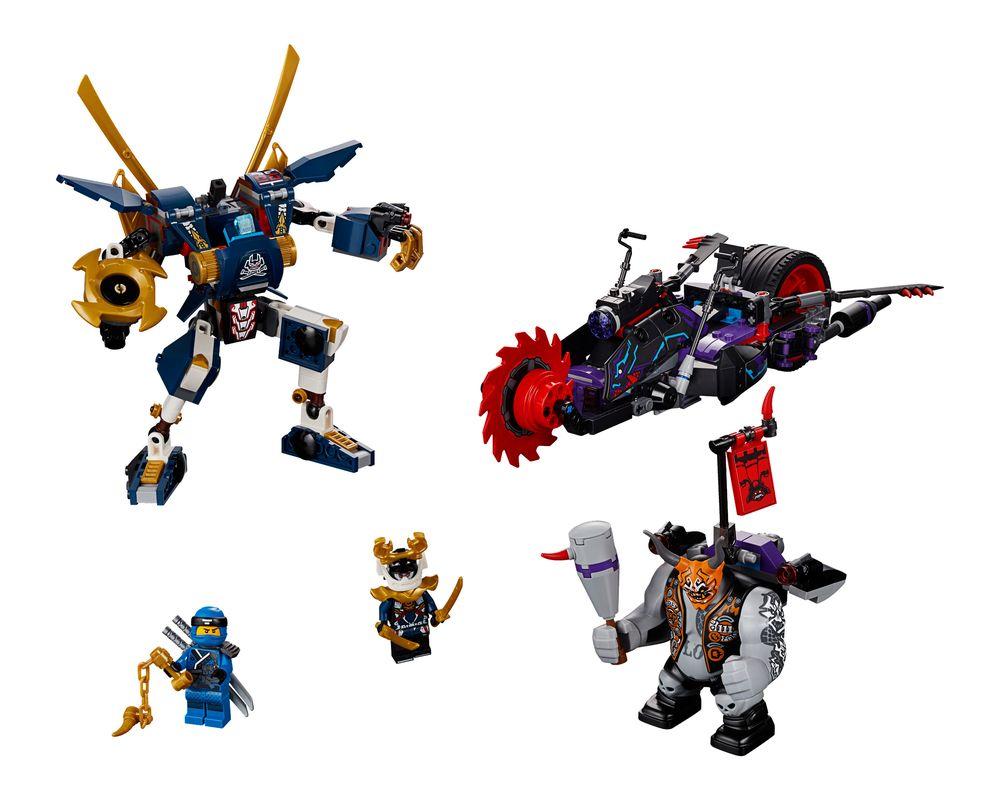 LEGO Set 70642-1 Killow vs. Samurai X (LEGO - Model)