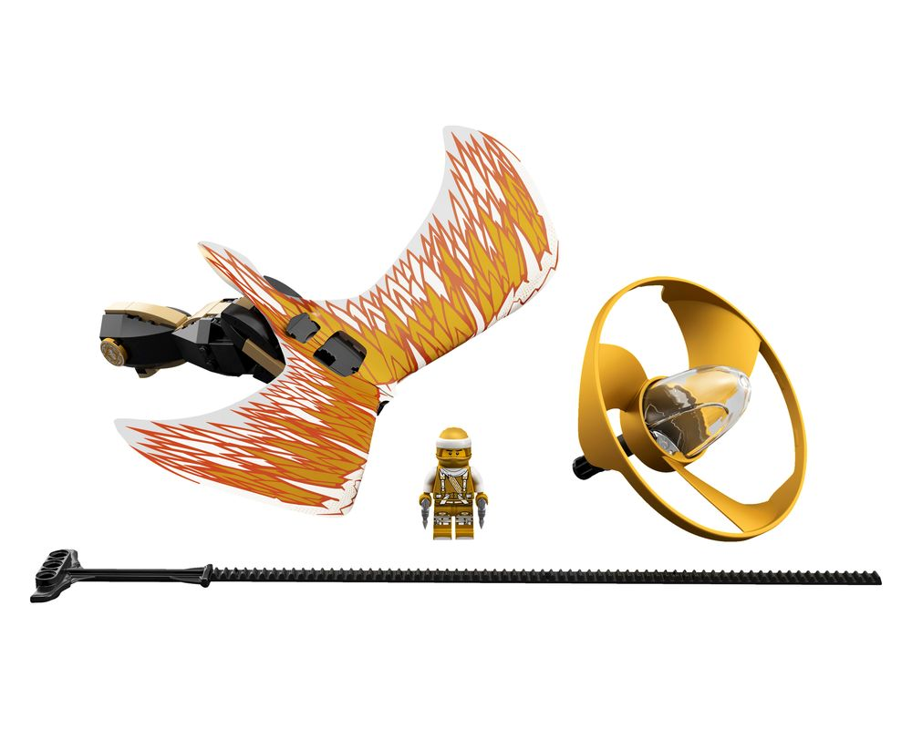 LEGO Set 70644-1 Golden Dragon Master (LEGO - Model)