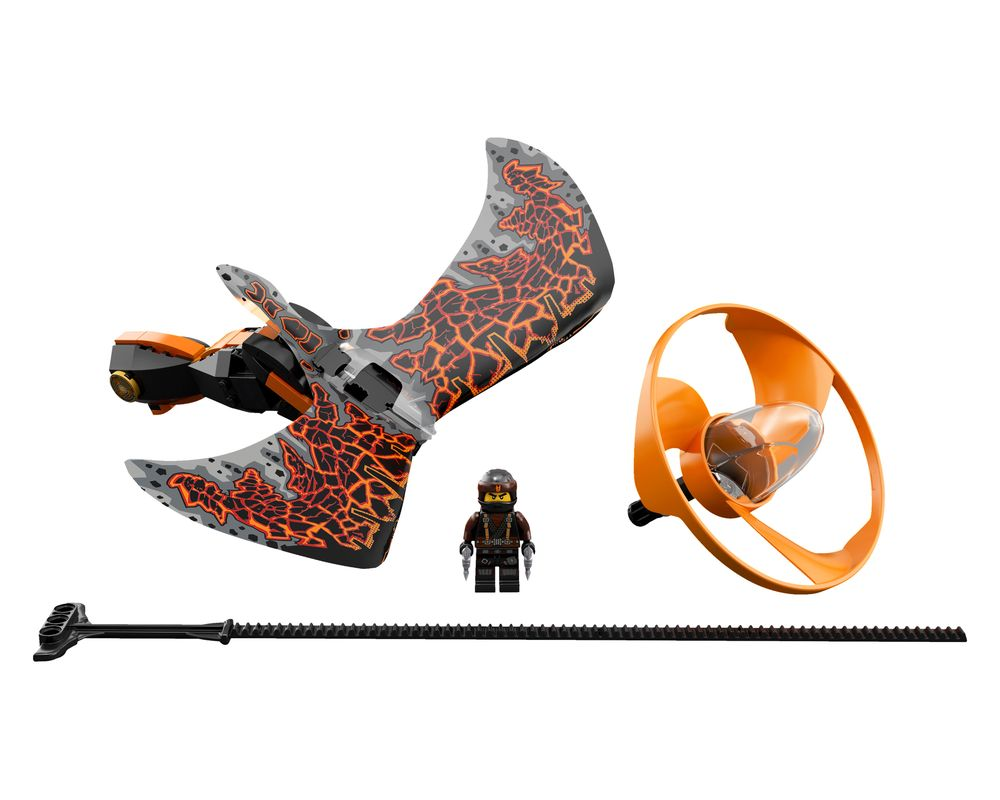 LEGO Set 70645-1 Cole - Dragon Master (LEGO - Model)