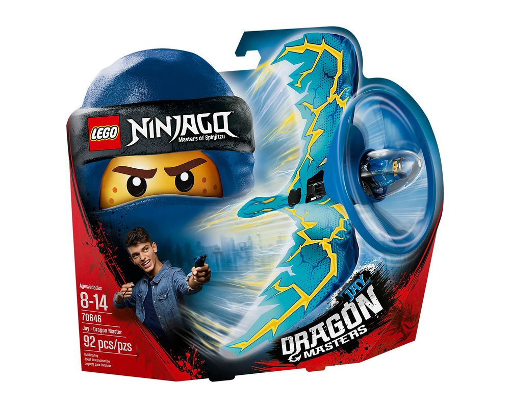 LEGO Set 70646-1 Jay - Dragon Master