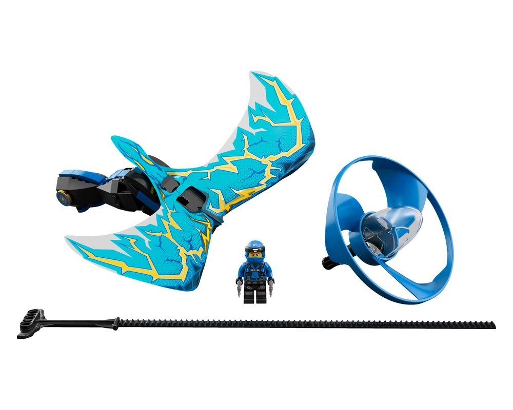 LEGO Set 70646-1 Jay - Dragon Master (Model - A-Model)