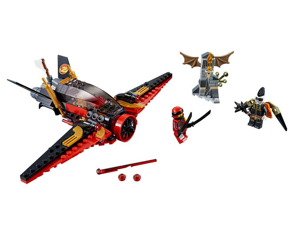 LEGO Set 70650-1 Destiny's Wing (Model - A-Model)