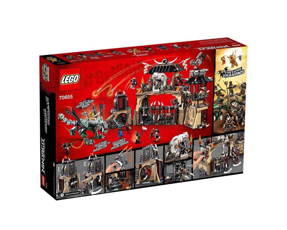 LEGO Set 70655-1 Dragon Pit (2018 Ninjago)   Rebrickable - Build with LEGO