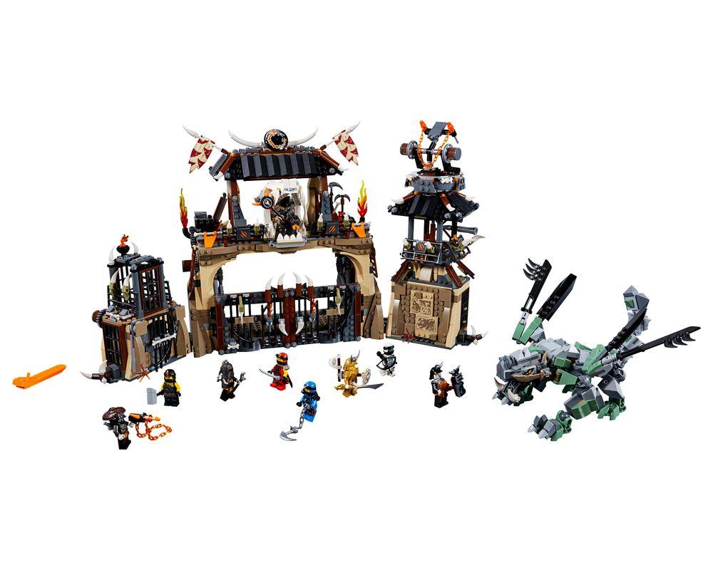 LEGO Set 70655-1 Dragon Pit (Model - A-Model)