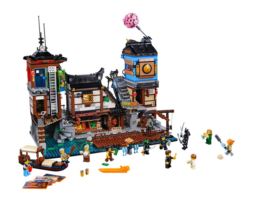 LEGO Set 70657-1 Ninjago City Docks (Model - A-Model)