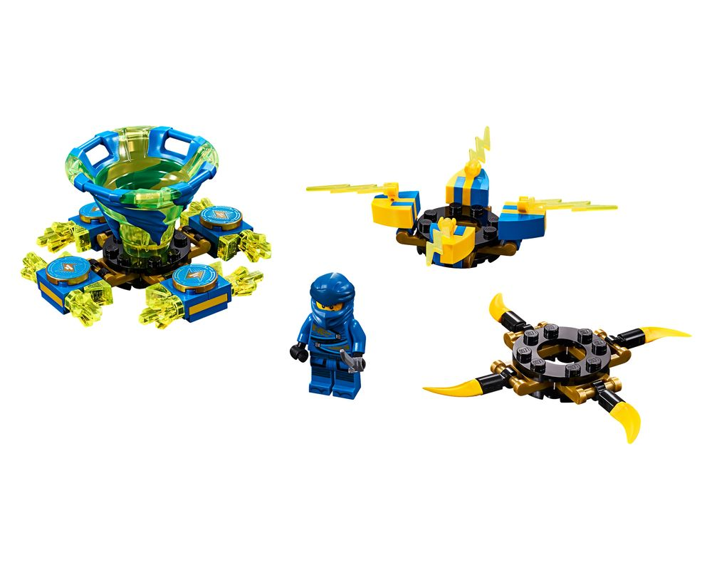 LEGO Set 70660-1 Spinjitzu Jay (Model - A-Model)