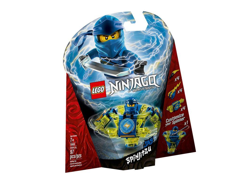 LEGO Set 70660-1 Spinjitzu Jay