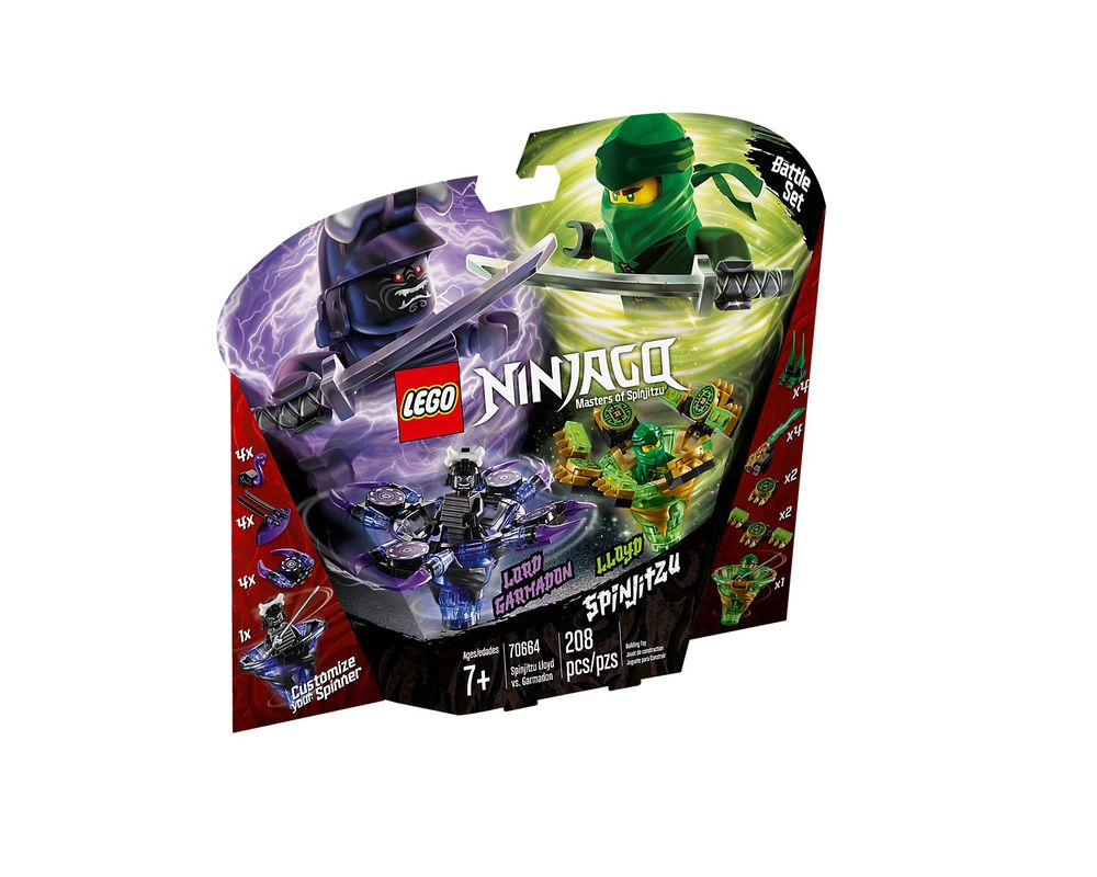 LEGO Set 70664-1 Spinjitzu Lloyd vs. Garmadon
