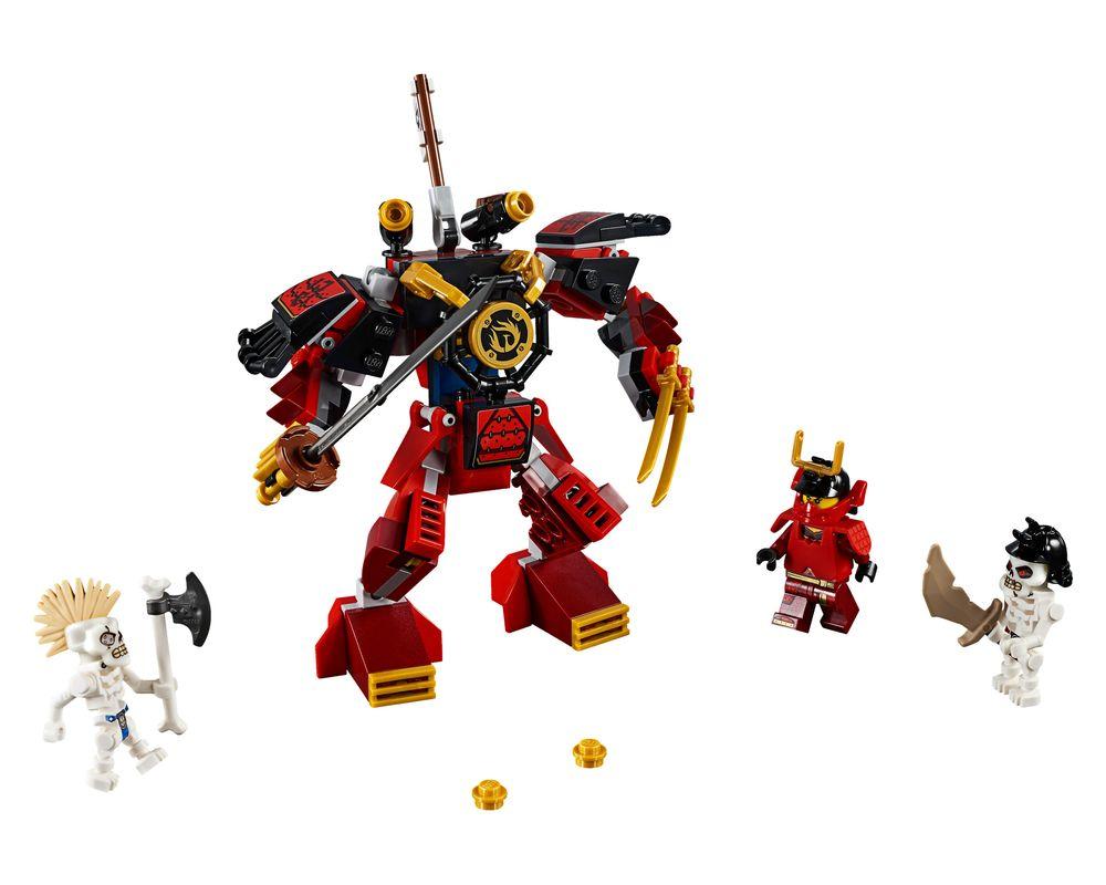 LEGO Set 70665-1 The Samurai Mech (Model - A-Model)
