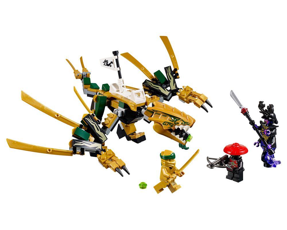 LEGO Set 70666-1 The Golden Dragon (Model - A-Model)