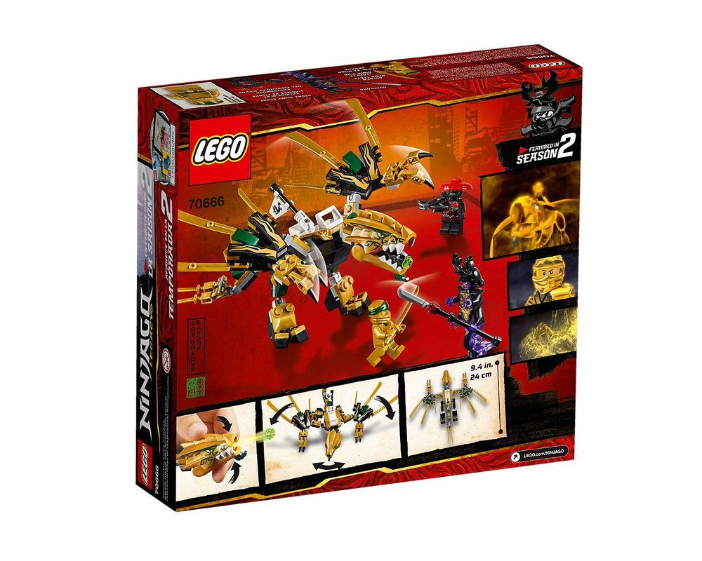 LEGO Set 70666-1 The Golden Dragon