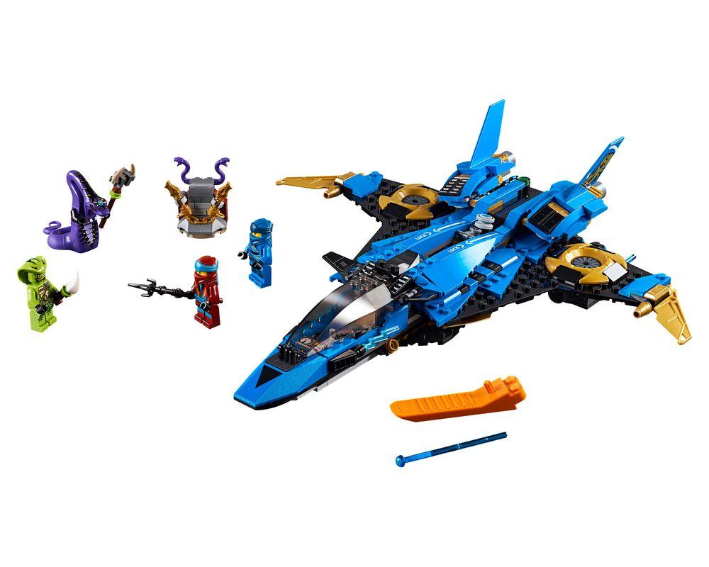 LEGO Set 70668-1 Jay's Storm Fighter (LEGO - Model)