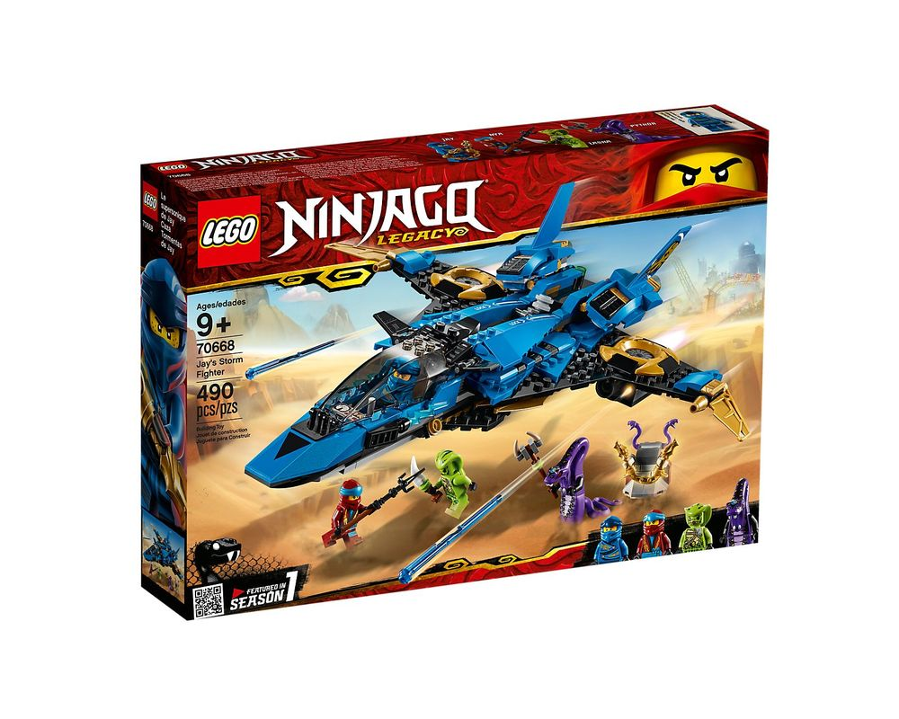 LEGO Set 70668-1 Jay's Storm Fighter