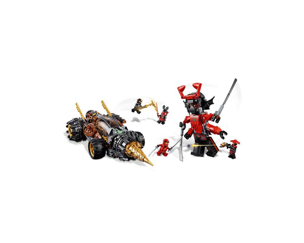 LEGO Set 70669-1 Cole's Earth Driller (2019 Ninjago) | Rebrickable - Build  with LEGO